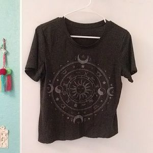 Tops - Cropped Astrological Tee! TRADED